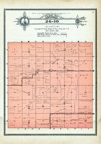 Township 26 Range 10, McClure, Ewing, Holt County 1915